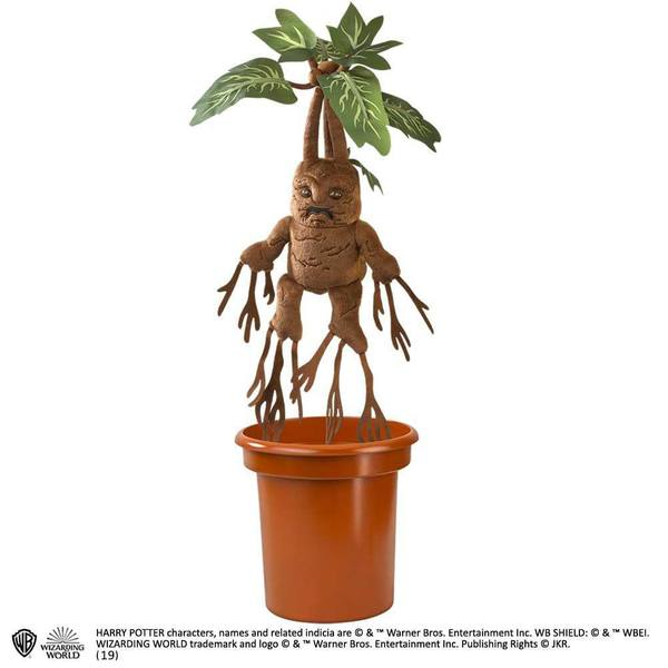 Harry Potter peluche interactive Mandrake Mandragore Noble Collection