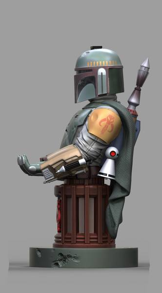 Star Wars Cable Guy Boba Fett Exquisite Gaming