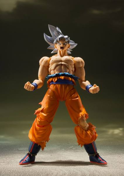 Dragon Ball Super figurine S.H. Figuarts Son Goku Ultra Instinct BANDAI