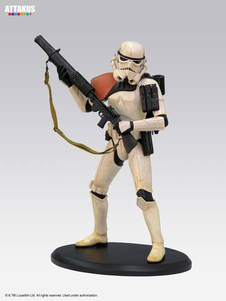 Star Wars Elite Collection statuette Sandtrooper  Attakus