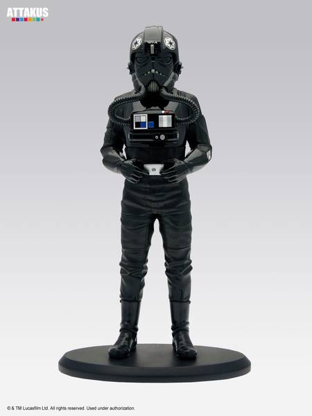 Star Wars Elite Collection statuette Tie Fighter Pilot Attakus