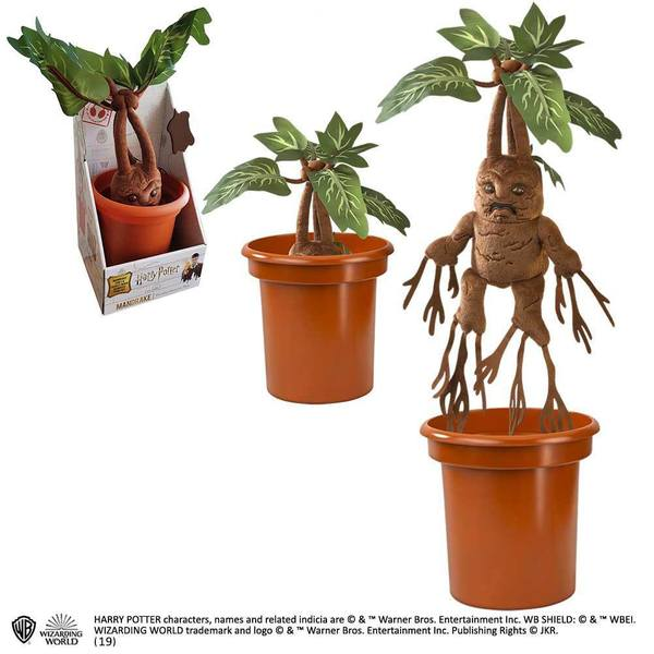 Harry Potter peluche interactive Mandrake Noble Collection