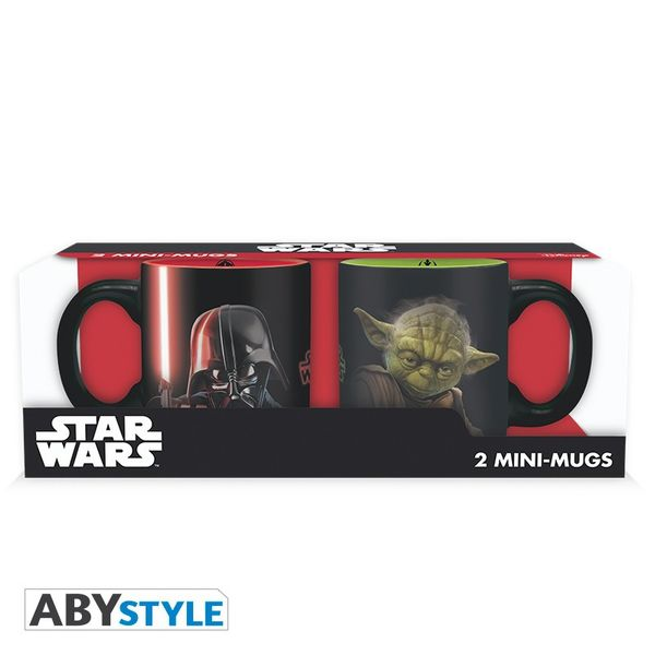 Star Wars Set 2 mini-mugs 110 ml Vador vs Yoda Abystyle