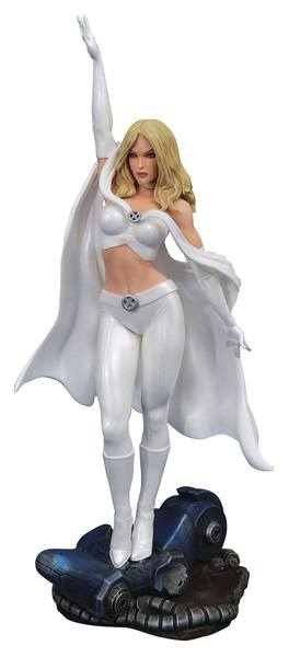 Marvel Comic Gallery diorama Emma Frost FCBD 2020 Exclusive  Diamond Select