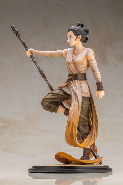 Star Wars Episode VII statuette PVC ARTFX 1/7 Rey Descendant of Light Kotobukiya
