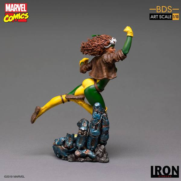 Marvel Comics statuette 1/10 BDS Art Scale x-MEN Rogue Iron Studio