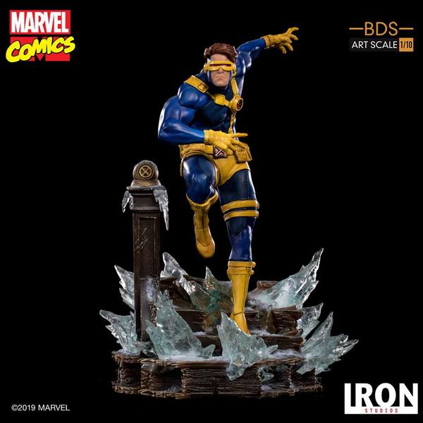 Marvel Comics statuette 1/10 BDS Art Scale x-MEN Cyclops Iron Studio