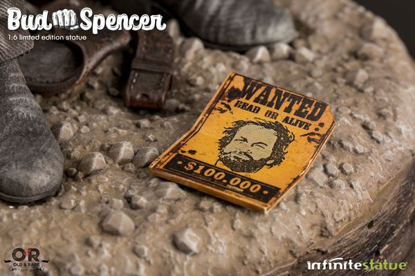 Bud Spencer Old & Rare Infinite Statue