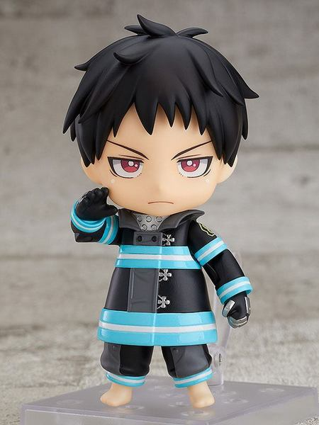 Fire Force figurine Nendoroid Shinra Kusakabe Orange Rouge