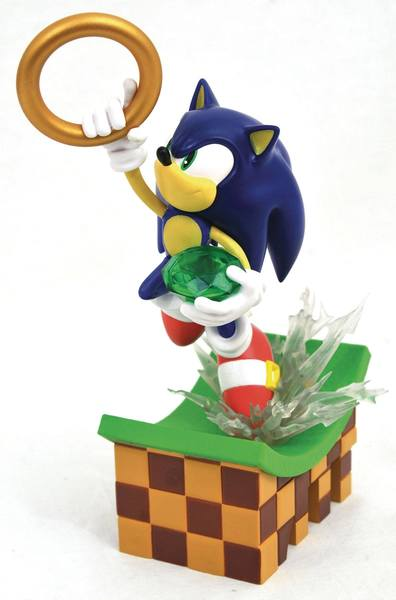 Sonic Gallery diorama Sonic Diamond Select