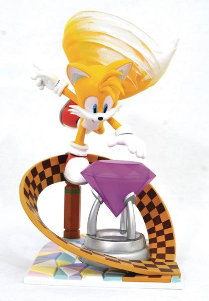 Sonic Gallery diorama Tails Diamond Select