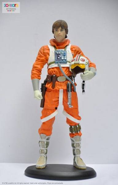 Star Wars Episode V Elite Collection statue Luke Snowspeeder Pilot Attakus
