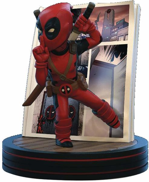 Marvel diorama Q-Fig Deadpool 4D Quantum Mechanix
