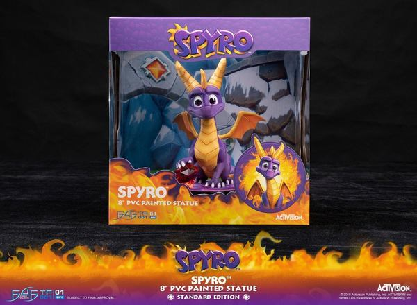neuf figurine jeux video Spyro the Dragon 20 cm First 4 Figures