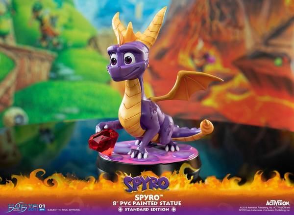 Spyro the Dragon statue Spyro F4F First 4 Figures