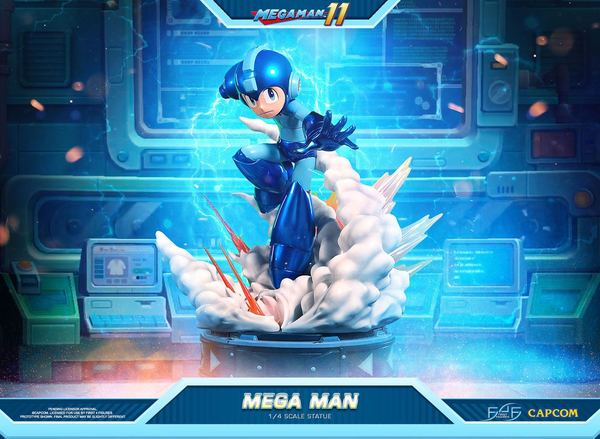 Mega Man 11 statuette 1/4 Mega Man First 4 Figures F4F