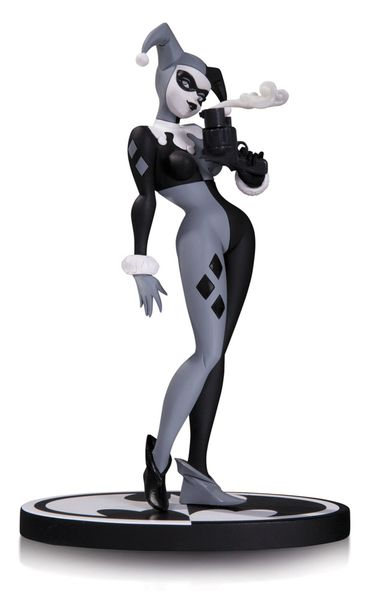 Batman Black & White statue Harley Quinn DC Collectibles 1ere edition