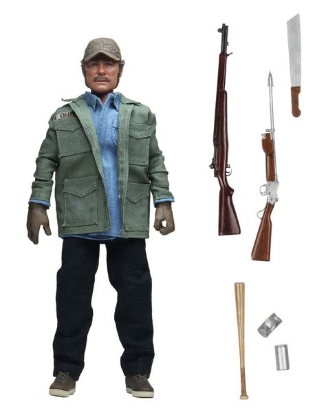 Jaws Les Dents de la mer figurine Retro Sam Quint Neca