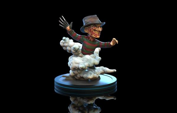 Nightmare On Elm Street figurine Q-Fig Freddy Krueger 10 cm
