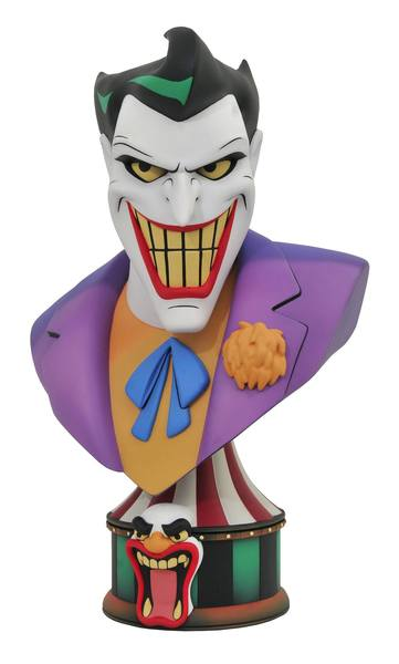 Batman: The Animated Series Legends in 3D buste 1/2 The Joker Diamond Select