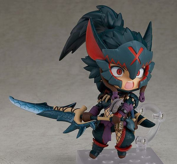 Monster Hunter World Iceborne figurine Nendoroid Hunter: Female Nargacuga Alpha Armor Ver. Good Smile Company