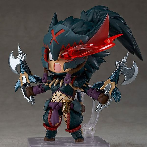 Monster Hunter World Iceborne figurine Nendoroid Hunter: Female Nargacuga Alpha Armor Ver. DX Good Smile Company