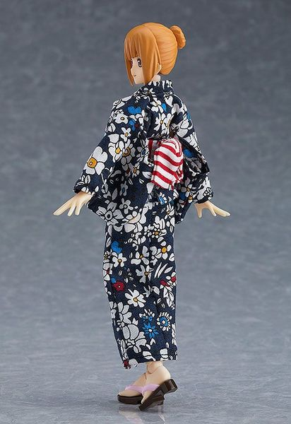 Original Character figurine Figma Female Body Emily with Yukata Outfit  Max Factory
