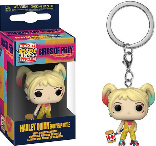 Les Anges de la nuit porte-clés Pocket POP! Vinyl Harley Quinn (Boobytrap Battle) Funko