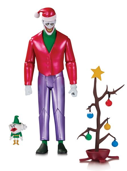 Batman the Animated Series Christmas With the Joker Action Figure Set DC Collectibles