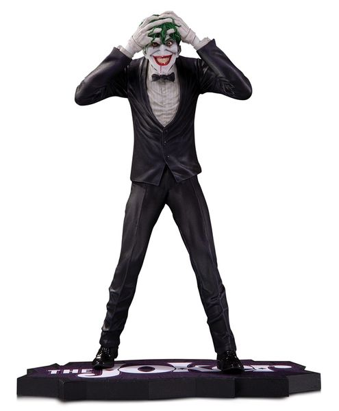 The Joker Clown Prince of Crime Statue Brian Bolland DC Collectibles