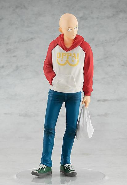 One Punch Man statuette PVC Pop Up Parade Saitama Oppai Hoodie Ver. good smile company