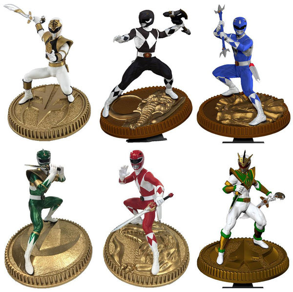 Mighty Morphin Power Rangers statuette PVC au choix Pop Culture Shock