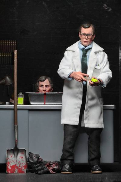 Re-Animator figurine Retro Herbert West Neca
