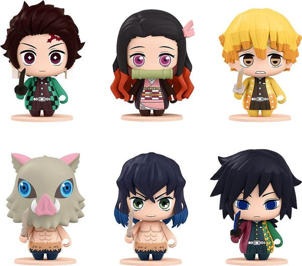 Demon Slayer: Kimetsu no Yaiba pack 6 figurines Pocket Maquette #01 Good Smile company