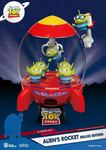 Toy Story diorama PVC D-Stage Alien's Rocket Deluxe Edition Beast Kingdom