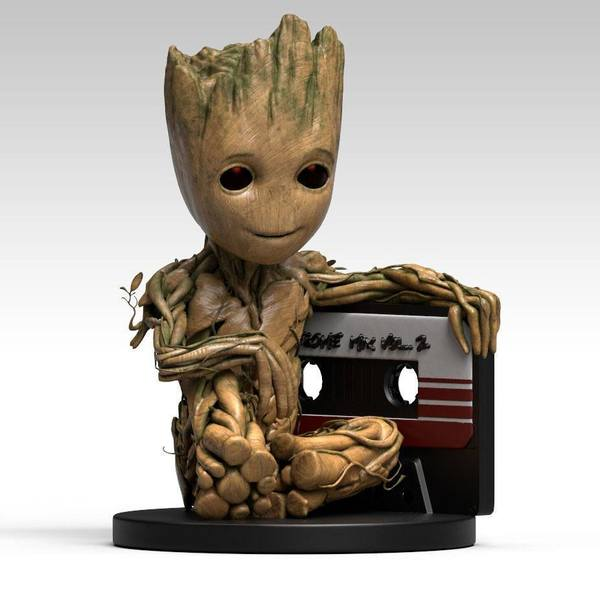 Les Gardiens de la Galaxie 2 tirelire Baby Groot 25 cm Semic Marvel