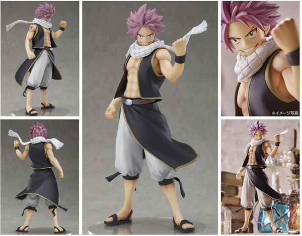 Fairy Tail Final Season statuette PVC Pop Up Parade Natsu Dragneel Good Smile Company