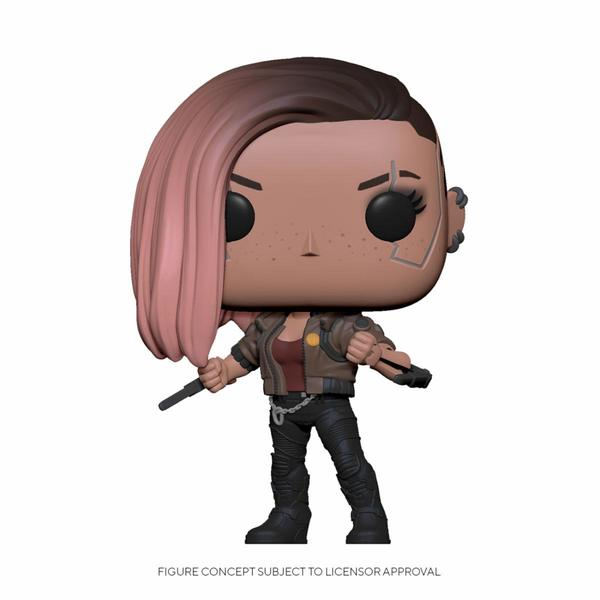 Cyberpunk 2077 POP! Games Vinyl Figurine V-Female Funko