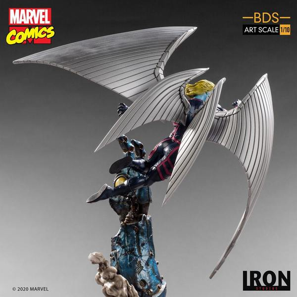 Marvel Comics statuette 1/10 BDS Art Scale x-MEN Archangel Iron Studio