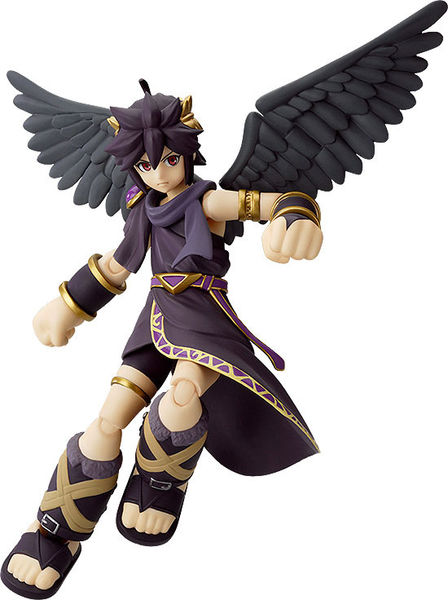 Kid Icarus: Uprising figurine Figma Dark Pit Good Smile Company