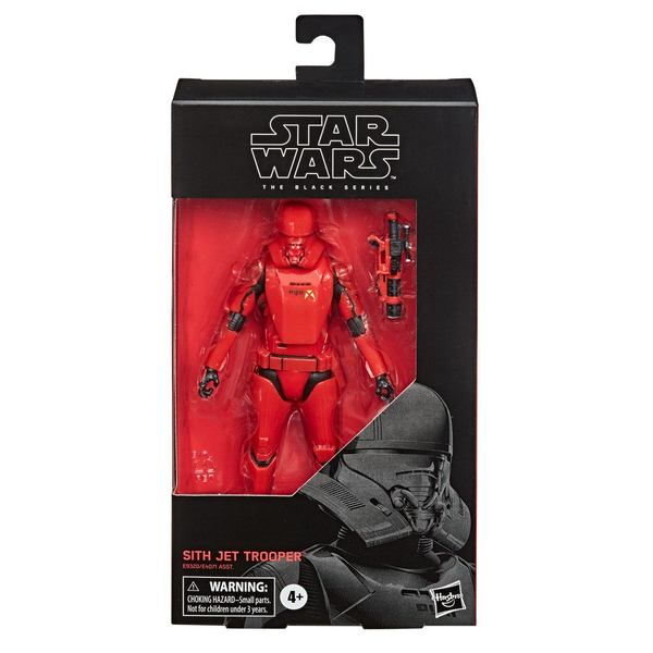 Star Wars Episode IX Black Series 2020 Wave 1 Sith Jet Trooper Hasbro