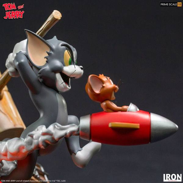 Tom & Jerry statuette Prime Scale 1/3 Tom & Jerry Iron Studios