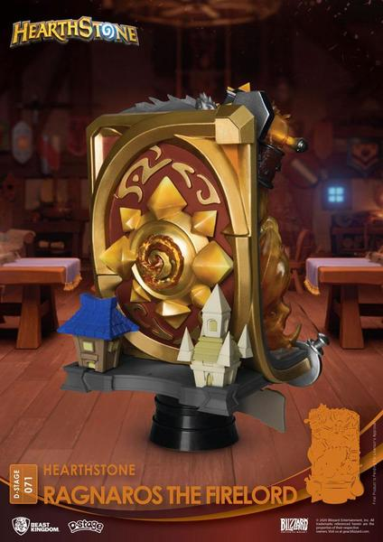 Hearthstone: Heroes of Warcraft diorama PVC D-Stage Ragnaros the Firelord Beast Kingdom
