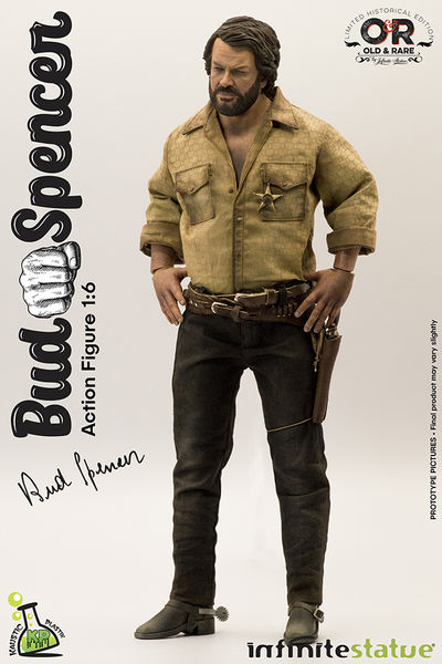 Bud Spencer 1/6 Action Figure Infinite