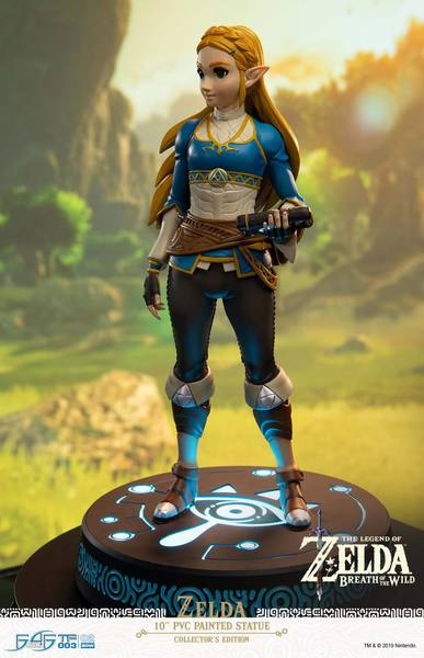 The Legend of Zelda Breath of the Wild statuette PVC Zelda Collector's Edition First 4 Figures