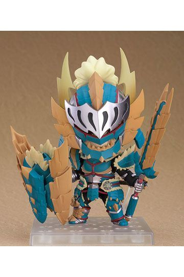 Monster Hunter World Iceborne figurine Nendoroid Hunter: Male Zinogre Alpha Armor Good Smile Company