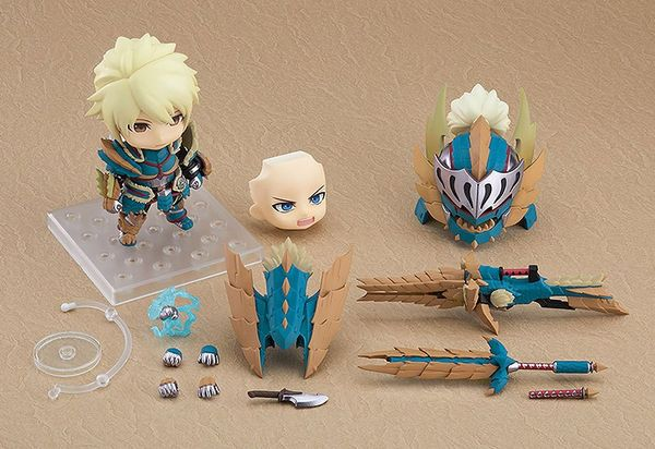Monster Hunter World Iceborne figurine Nendoroid Hunter: Male Zinogre Alpha Armor Ver. DX Good Smile Company