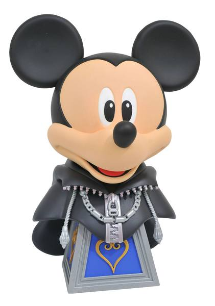 Kingdom Hearts 3 Legends in 3D buste 1/2 Mickey Mouse Diamond Select