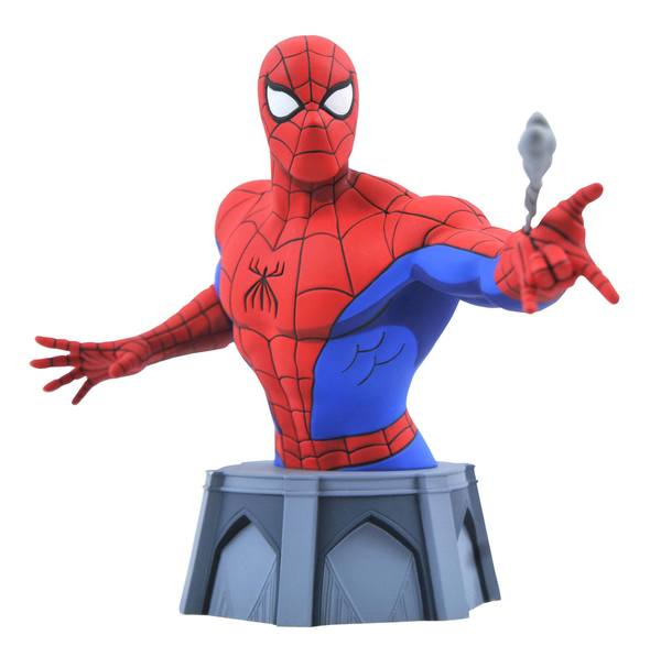 Spider-Man: The Animated Series buste 1/7 Spider-Man Diamond Select