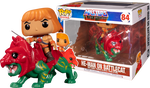Masters of the Universe POP! Rides Vinyl figurine He-Man on Battle Cat  Funko